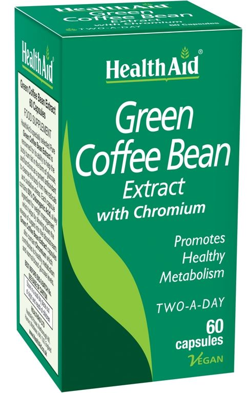 HEALTHAID GREEN COFFEE BEAN EXTRACT WITH CHROMIUM