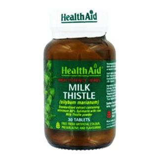 HEALTHAID MILK THISTLE 500MG (EQUIVALENT)
