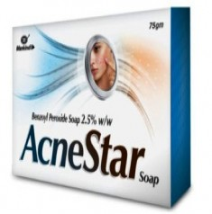 Acnestar Soap (Benzoyl Peroxide) Drug Price and Information
