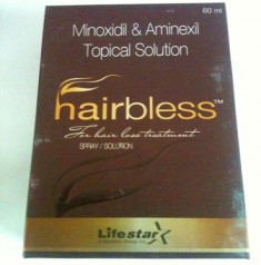 HAIRBLESS TOPICAL SOLUTION 60 ML