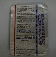 VAGOLIP 20MG TABLET