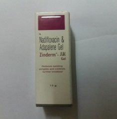 ZINDERM AN GEL 15 GM
