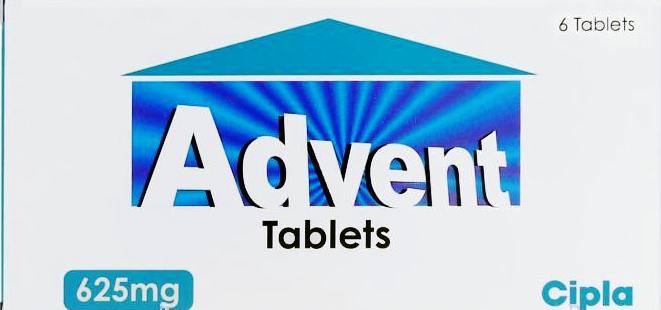 ADVENT 625 TABLET 10`S