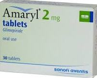 AMARYL 2MG TABLET 30`S