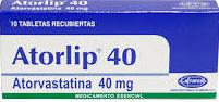 ATORLIP 40MG TABLET