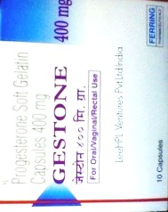 GESTONE 400MG SOFTGEL