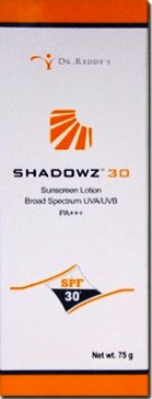 SHADOWZ SPF 50ML LOTION 75GM