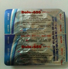 DOLO 650MG TABLET
