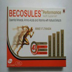 BECOSULES PERFORMANCE CAPSULE 15`S