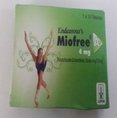 MIOFREE A 4MG TABLET